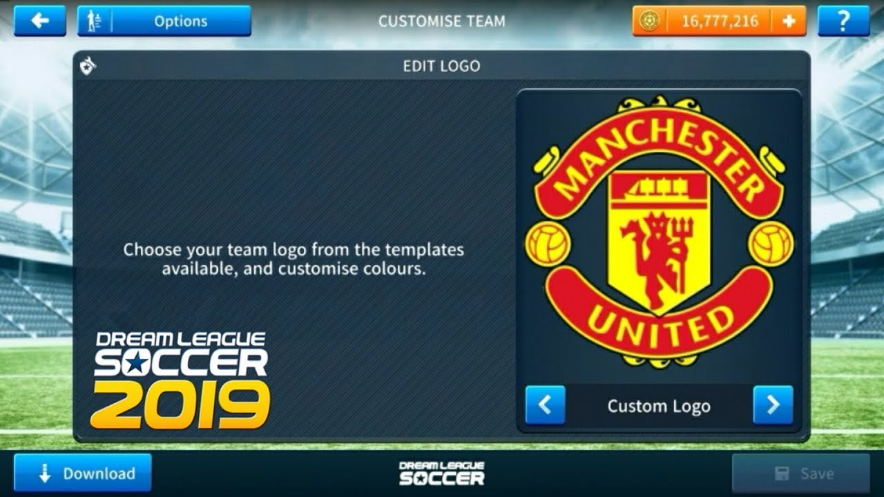 How To Import Manchester United Logo And Kits In Dream League Soccer 2019