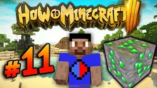 HOW TO MINECRAFT S3 #11 'SILKTOUCH MINING!' with Vikkstar