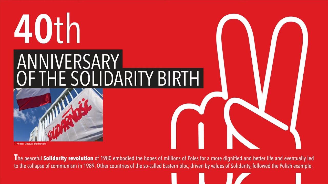 40. rocznica podpisania Porozumień Sierpniowych