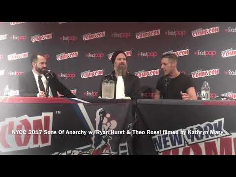 NYCC 2017 Sons Of Anarchy Panel w/ Ryan Hurst & Theo Rossi