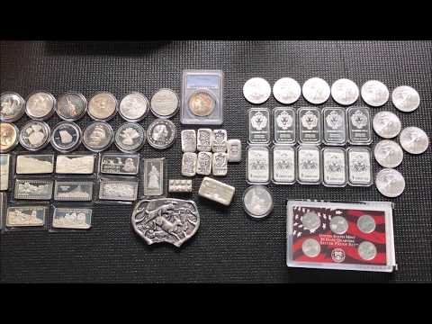 Silver and Coin Pickups Feb 2018 70+ozt