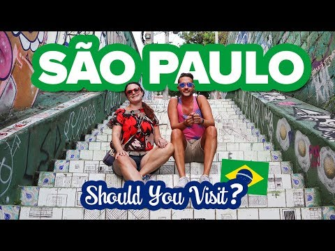 This Is SÃO PAULO, Brazil 😲 What It's Really Like Here. What To Do And Where To Stay In The City