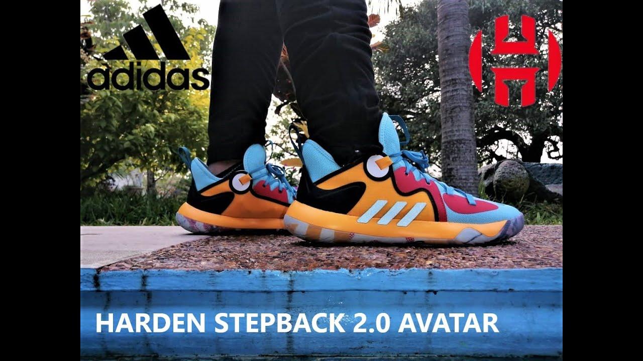 #hardenstepback2   AVATAR 2021 Adidas Harden Stepback 2 DETAILED LOOK ON FEET
