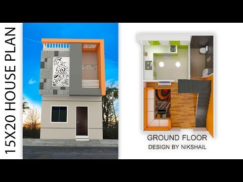 300 Sqft 15x20 House Plan With 3d Elevation By Nikshail Youtube,House Of The Rising Sun Guitar Lesson For Beginners