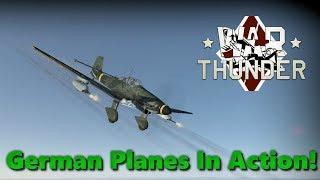 German Planes in Action! - War Thunder Gameplay #4