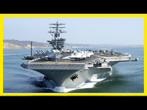 Breaking News | The u.s. navy is upgrading its aircraft carriers to fight from 1,000 miles away