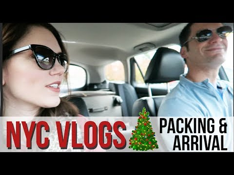NYC VLOG | Packing and Arrival!