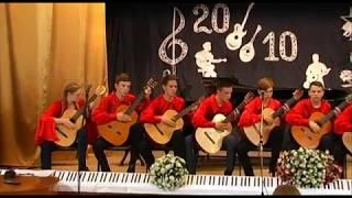 Д. Лаінфієста Мігель де Бадахос - Перуанський вальс. Ансамбль гітаристів ''Новий День''