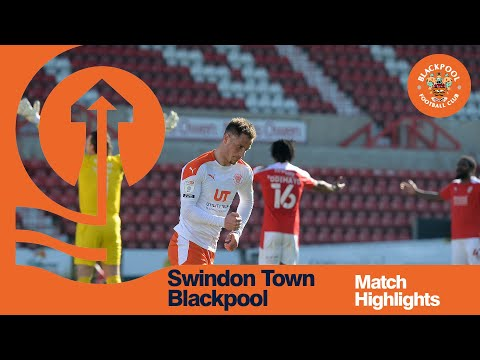 Swindon Blackpool Goals And Highlights