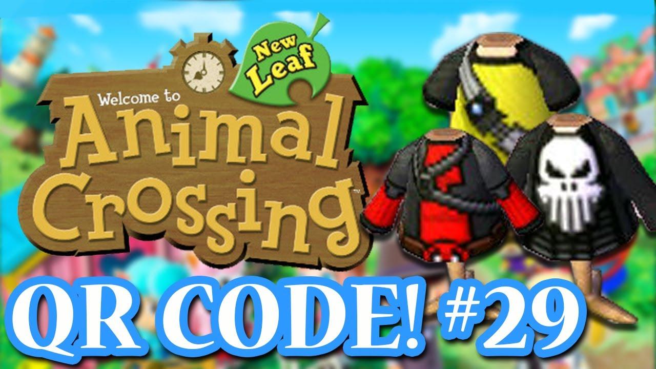 Qr Code Animal Crossing Happy Home Designer Clothing Html on