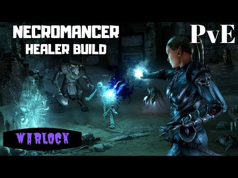 ESO Necromancer Healer Build - The Warlock (PvE)