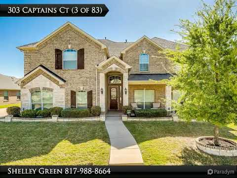 Homes for Sale - 303 Captains Court, Mansfield, TX