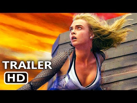 Thumbnail: VALERIAN Official Trailer Tease (2017) Cara Delevingne, Rihanna Sci Fi Movie HD