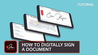 How to digitally sİgn a document | Adobe Document Cloud