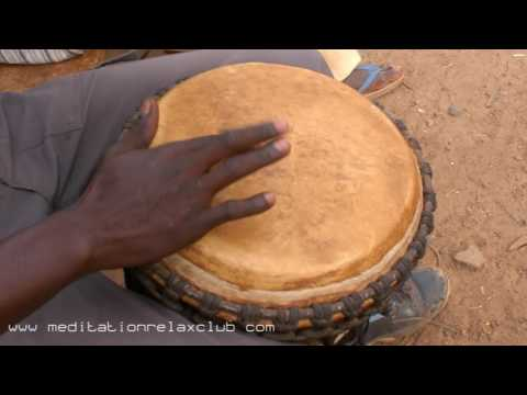 African Drums: Africa's Tribal Rhythm, Drum Beat Sounds for Relaxing Background
