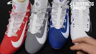 Nike Alpha Huarache 6 Elite Lacrosse Cleats 2019 Colors Lightning Round Video