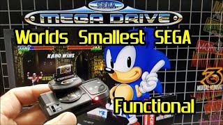 """Micro SEGA Mega Drive Tower of Power : functional """"custom build"""""""