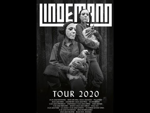 Lindemann feat. Rammstein's Till Lindemann announce European/UK headlining tour ..!