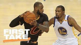 LeBron James or Kevin Durant Stephen A. and Will Cain debate best player in NBA First Take ESPN