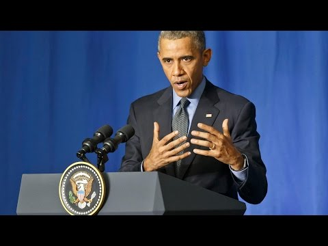 Obama addresses terrorism threat from Oval Office