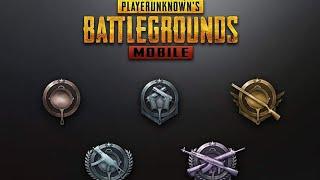 Los Rangos y su explicacion en pubg mobile  Como subir rango en pung mobile y en que servidor