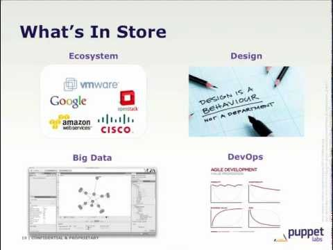 Video: Puppet Labs Datacenter Automation