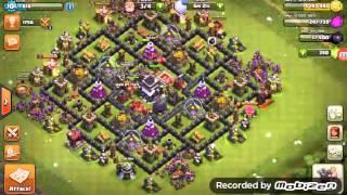 Clash of clans - 2 tore dello stregone al 7