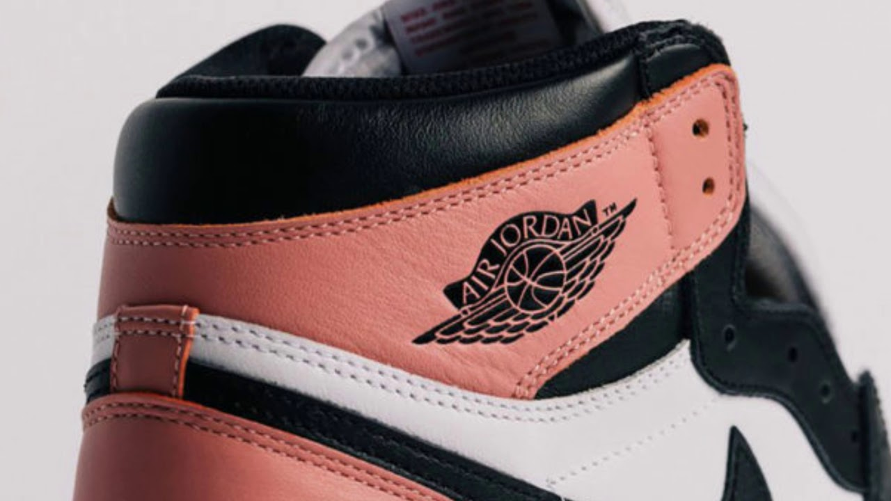 new product ceeb5 da602 AIR JORDAN 1 RUST PINK