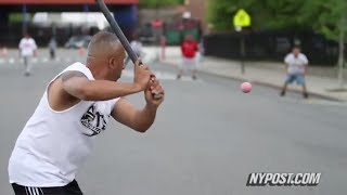 New Yorkers Prove Stickball Isn