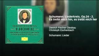 Schumann: Liederkreis, Op.24 - 2. Es treibt mich hin, es treibt mich her