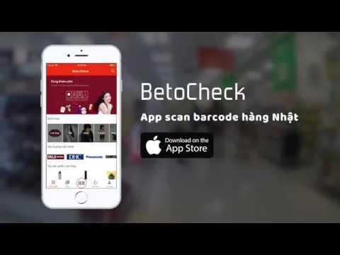 BetoCheck: Ứng dụng scan hàng Nhật cho người Việt