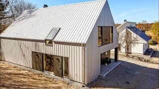 Каркасный дом. Без карнизных свесов и отделкой стен из кровельного покрытия(, 2016-10-31T20:55:27.000Z)