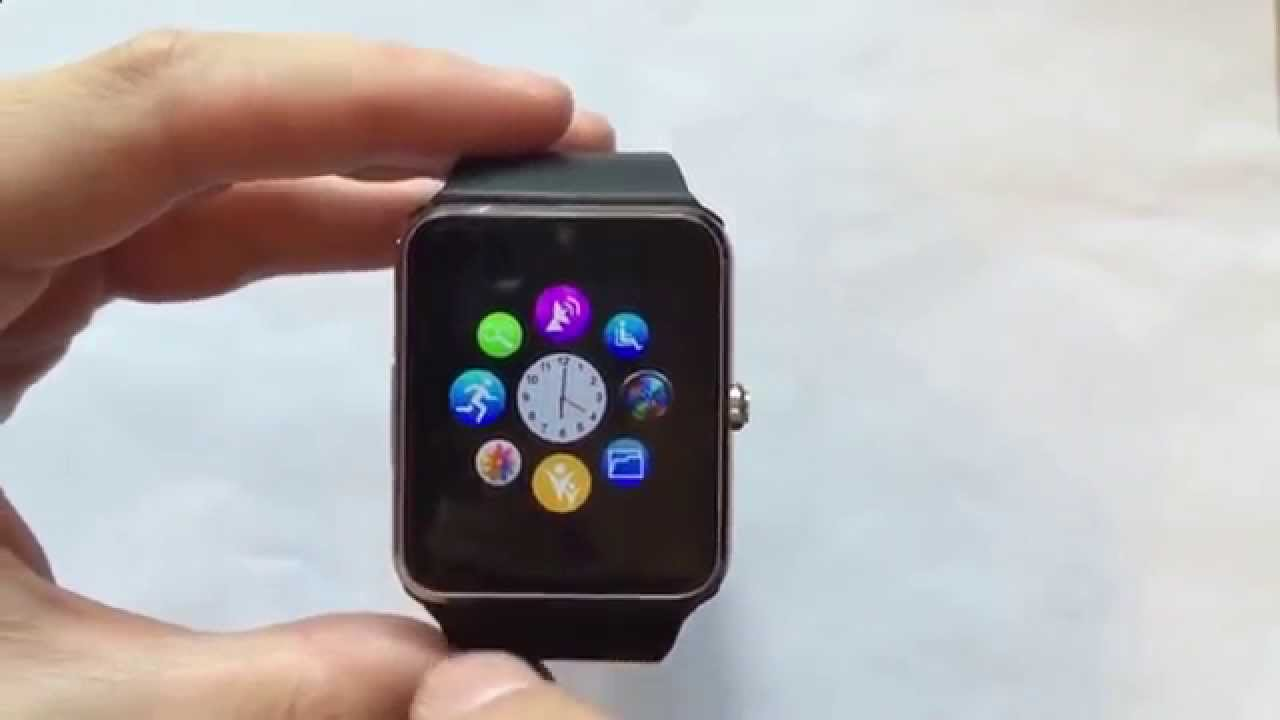 Инструкция к часам smart watch phone на русском