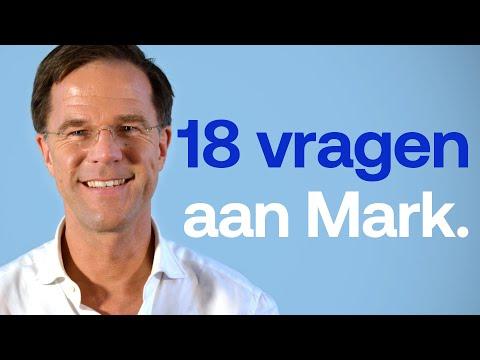18 vragen aan Mark Rutte.