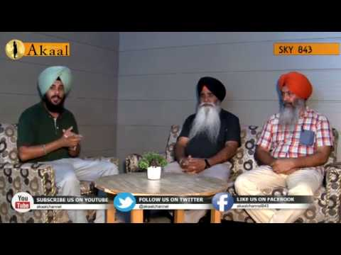 Akaal Morning show with Basant singh panjhattha France in haryana studio