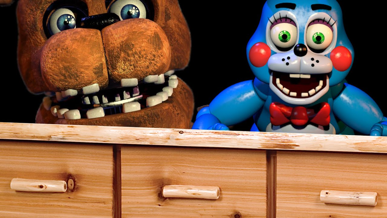 FREDDY\'S PIZZERIA HIDE AND SEEK! - Gmod Five Nights At Freddy\'s Map ...