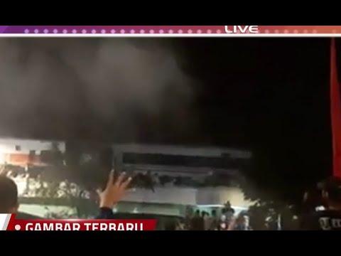 Penonton Drama Kolosal Surabaya Membara Tertabrak Kereta