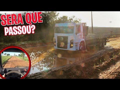 A PIOR ESTRADA QUE JA PASSAMOS COM O BOB SÓ O CANO!!!!