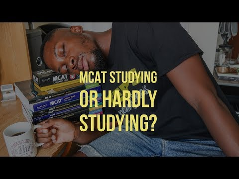 How I am studying for the MCAT | Medical School Preparation 2017