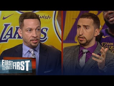 Chris Broussard was 'stunned' Lakers hired Frank Vogel as new head coach | NBA | FIRST THINGS FIRST