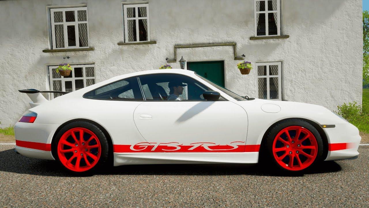 Forza Horizon 4 - PORSCHE 996 911 GT3- Test drive // 1080p ...