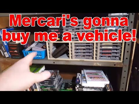Life of A Game Hunter/Collector Vlog - Ep. 28 - Mercari's Gonna Buy Me A Vehicle!