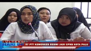 57 PTT Kemenkes dipastikan Jadi CPNS Kota Palu