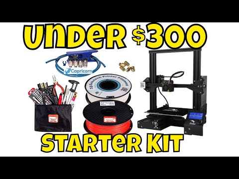 Under $300 - 3D Printing Starter Kit Including Creality Ender 3