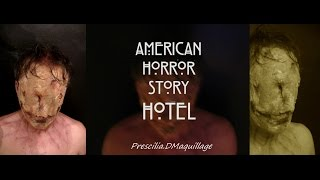 "AHS Saison 5 ""Hotel"" Makeup inspiration"