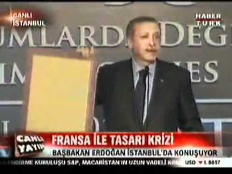 Sarkozy'ye Osmanlı tokadı!