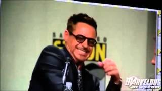 "Robert Downey Jr. ""RDJ  SMILE... PLEASE SMILE"""