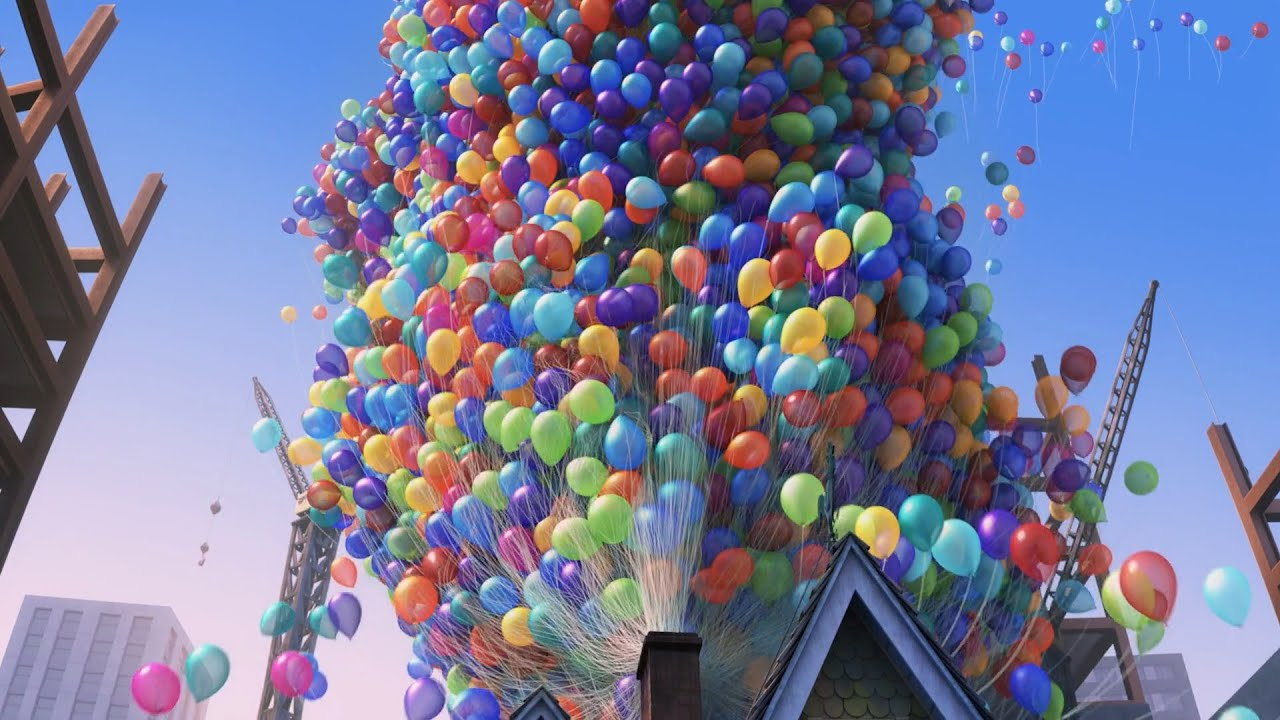 Download Flying House   Up (2009) Disney~Pixar