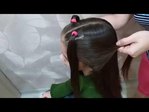 Прически девочкам на длинные волосы своими руками пошагово