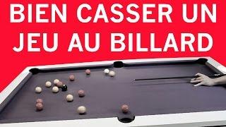 Comment bien casser un jeu au billard ? FR